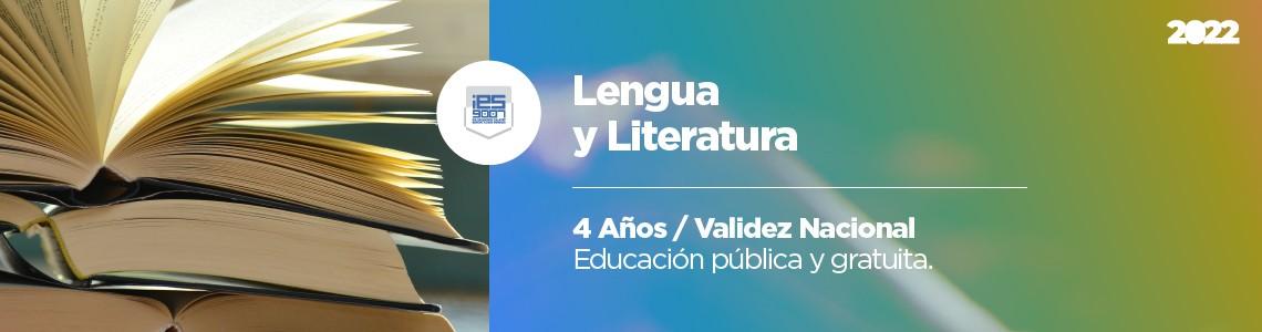 Profesorado de Lengua y Literatura