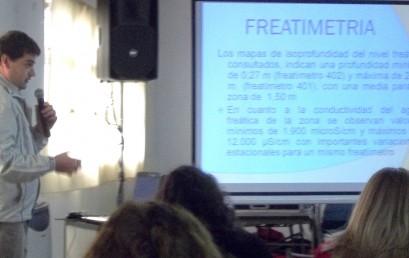 Participación en Jornada de Formación Técnica e Investigación