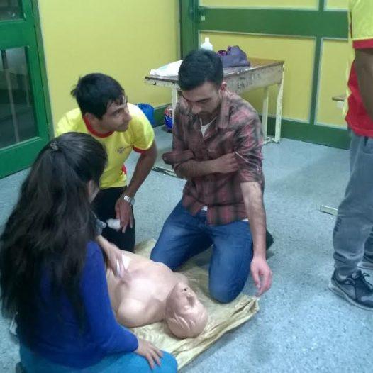 """Actualización en """"Reanimación Cardiopulmonar y los Primeros Auxilios"""""""