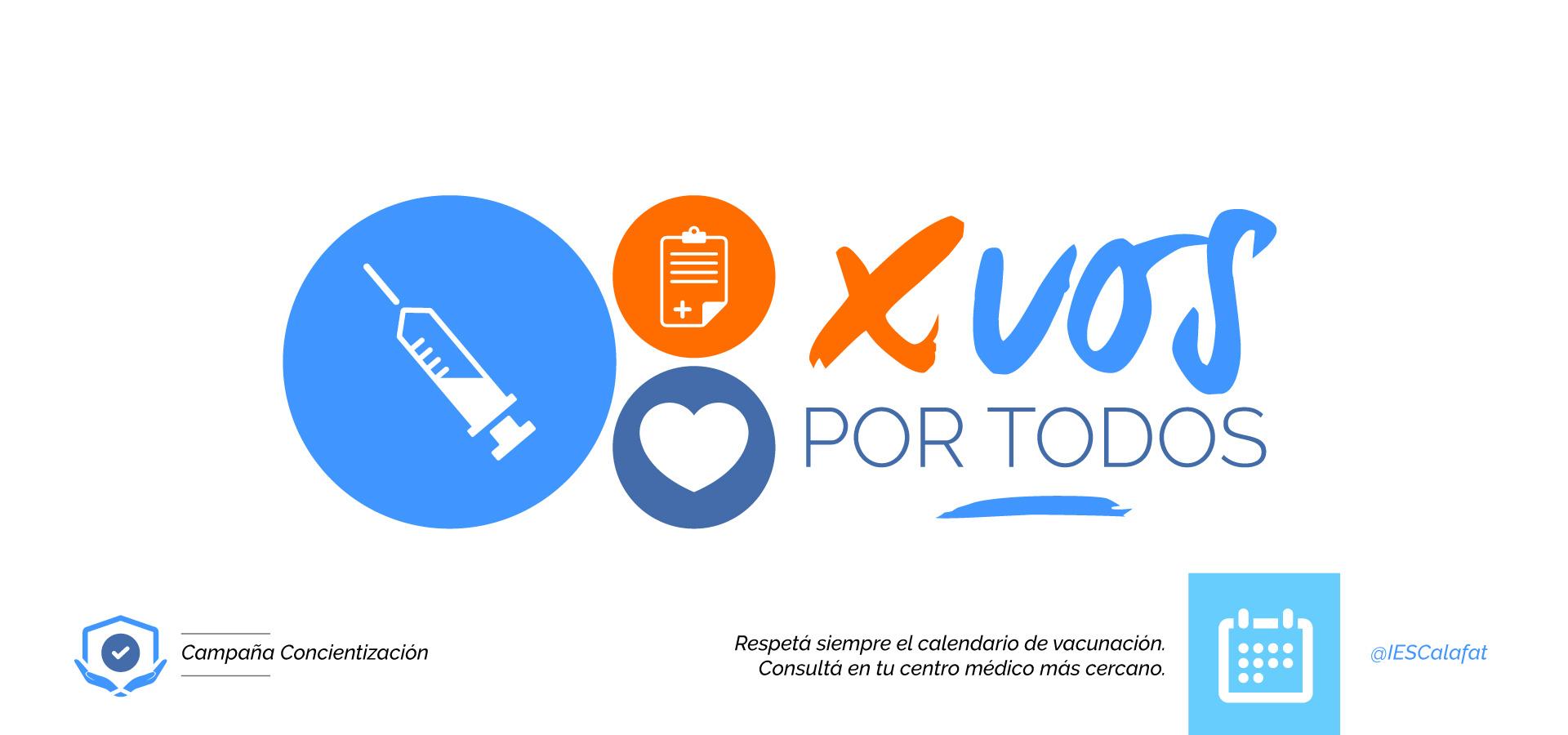 Campaña Inmunización / 3° Enfermería IESCalafat
