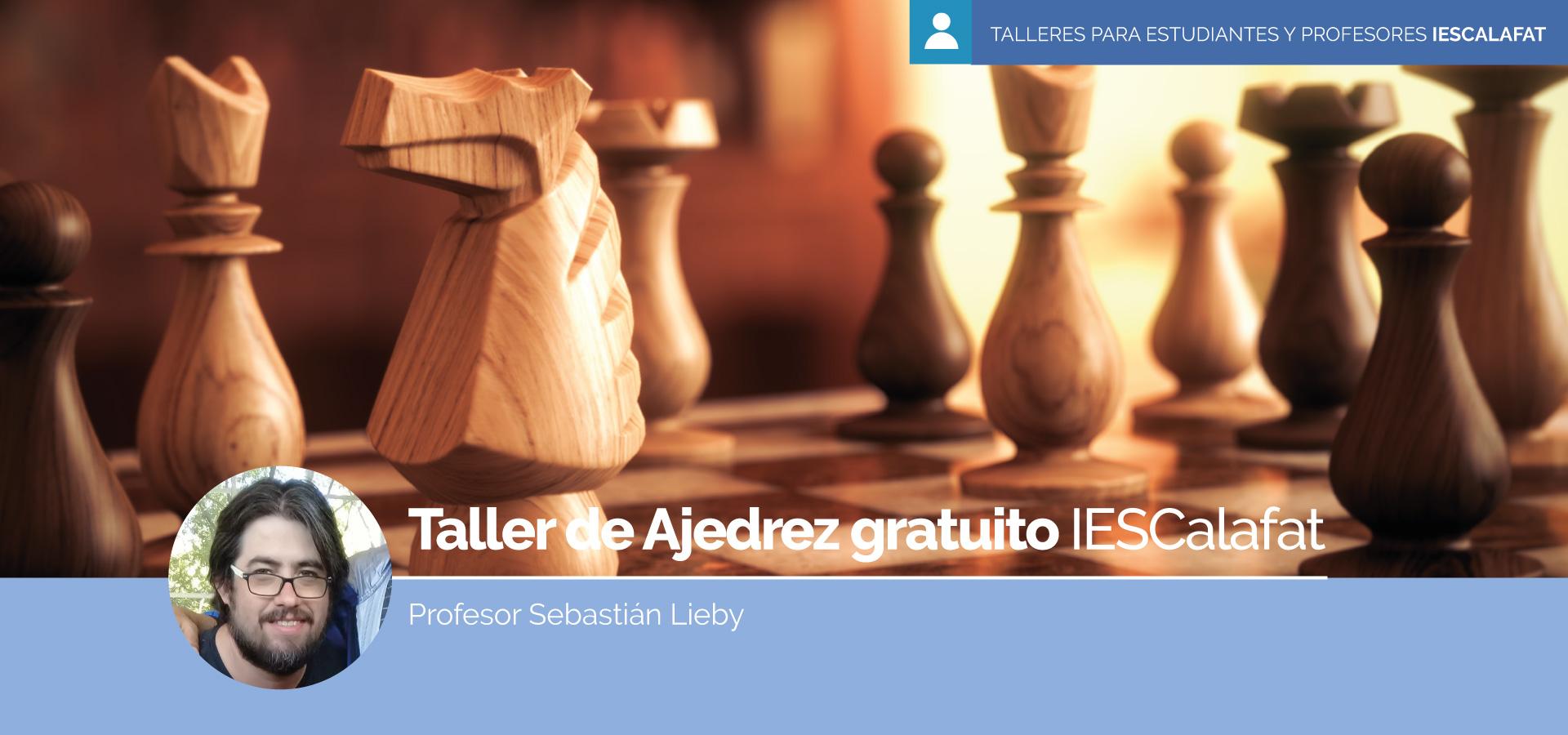 Taller de Ajedrez gratuito para estudiantes y profesores