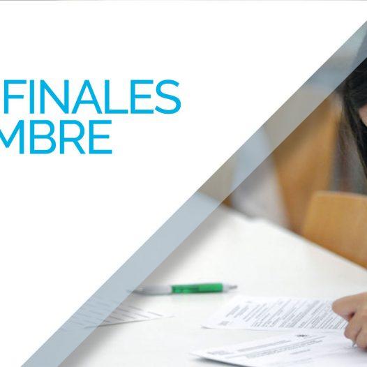 Mesas Finales Septiembre 2018