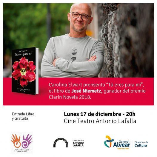 """Presentación """"Tú eres para mi"""" el libro de José Niemetz"""