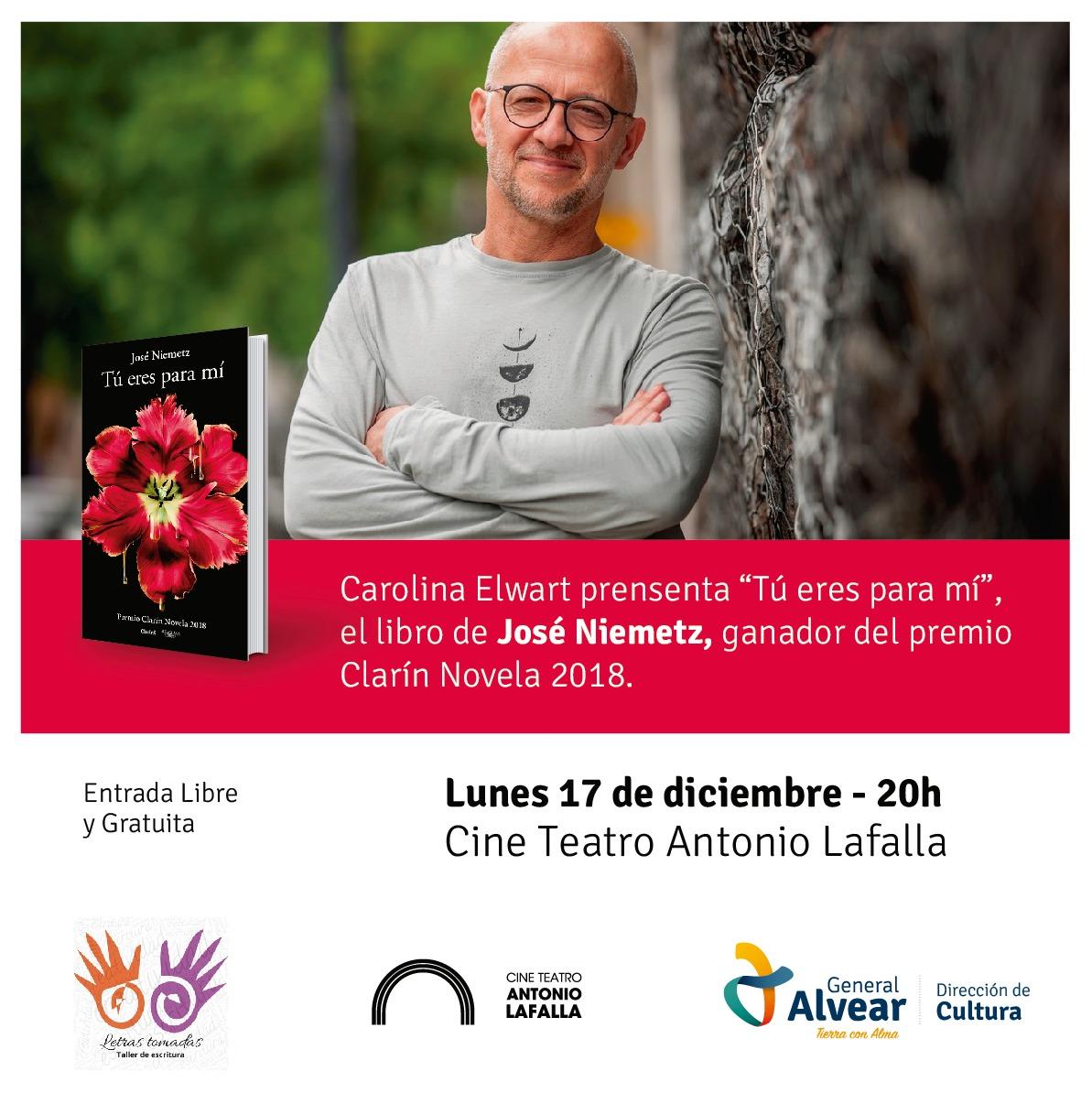 Presentación «Tú eres para mi» el libro de José Niemetz